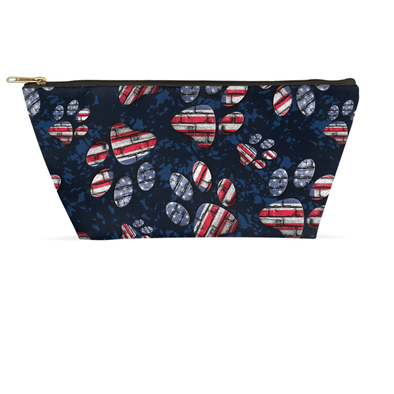 Patriotic Pup Accessory Pouch