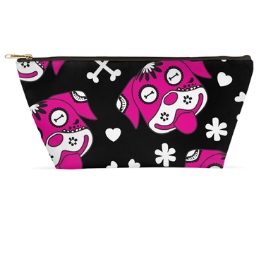 Day of the Dog Pink Accessory Pouch