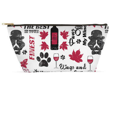 Wags and Wine Accessory Pouch