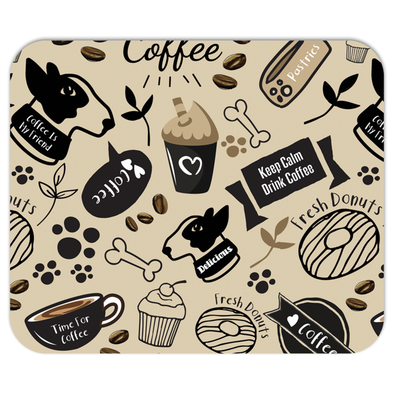 Caffeinated Canine Mousepad