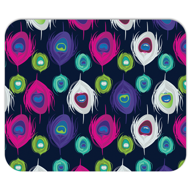 Peacock Splash Mousepad