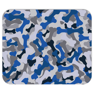 Bone Camo Blue Mousepad