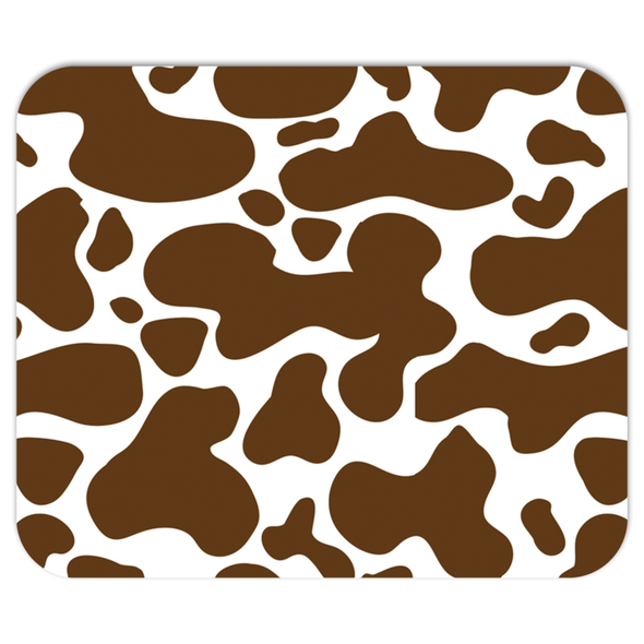 Cowhide Brown Mousepad