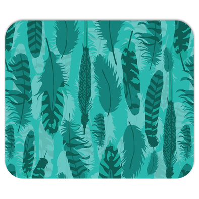The Wanderer Teal Mousepad