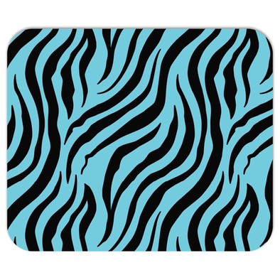 Zebra Blue Mousepad