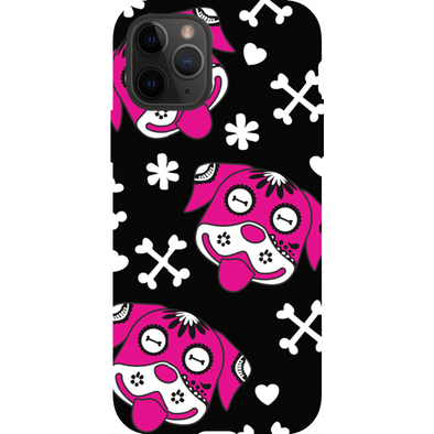Day of the Dog Pink Phone Cases