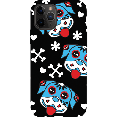 Day of the Dog Blue Phone Cases