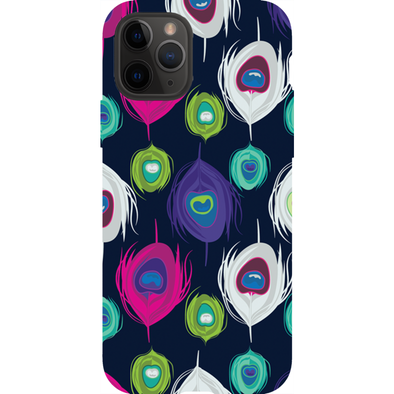 Peacock Slash Phone Cases