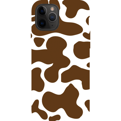 Cowhide Brown Phone Cases