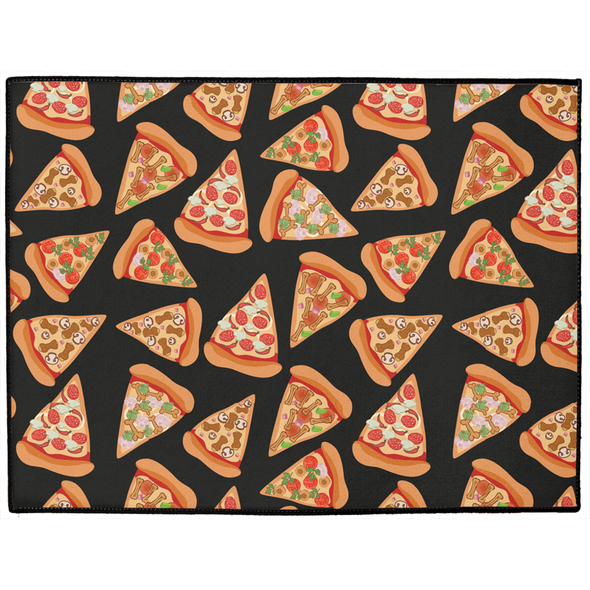 Pizza Luva Dog Mat