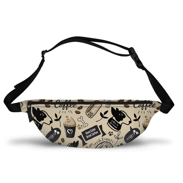 Caffeinated Canine Fanny Pack