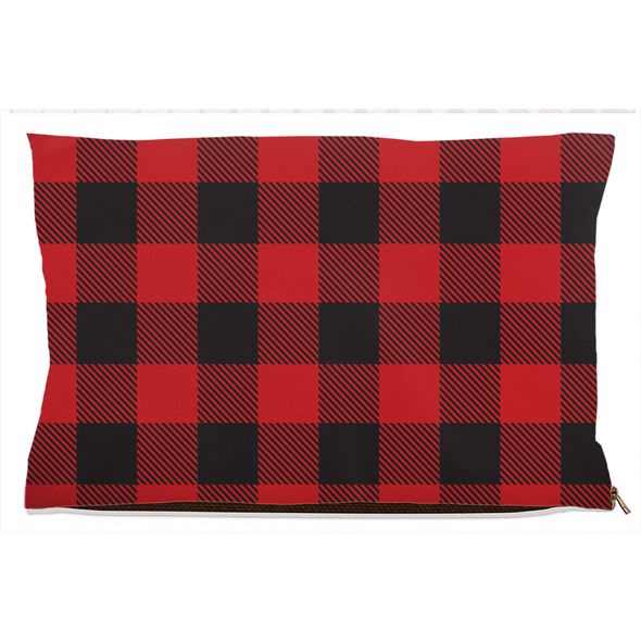 Buffalo Plaid Dog Bed