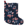 Patriotic Pup Christmas Stocking