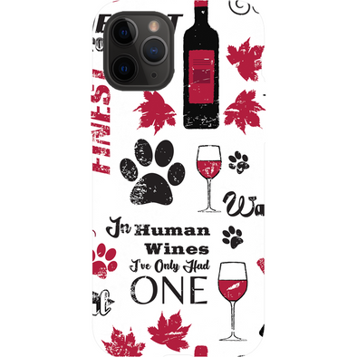 Wags and Wine Phone Case