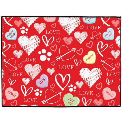 Puppy Love Dog Mat
