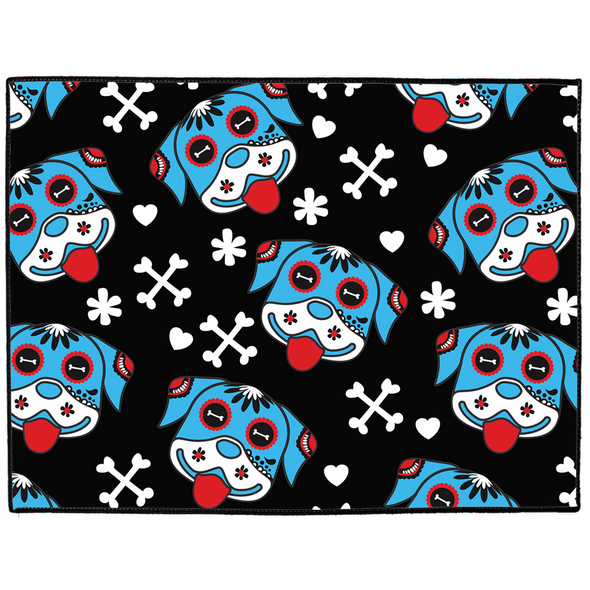 Day of the Dog Blue Dog Mat