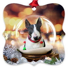 Custom Metal Ornaments (your dog photo)