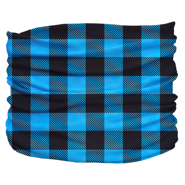 Buffalo Plaid Blue Pup Scruff