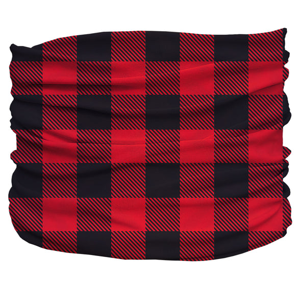 Buffalo Plaid red Pup Scruff