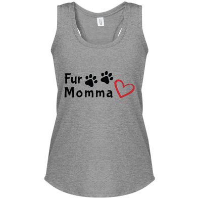 Ladies' Sleeveless Moisture Absorbing V-Neck Dogs Lives Matter