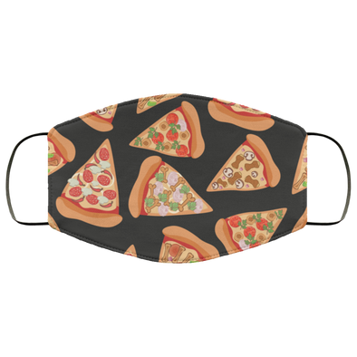 Pizza Luva Face Mask W/Ear Loops