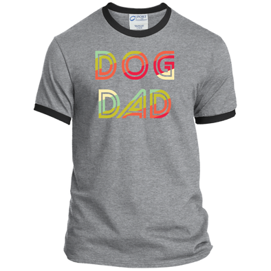 Ringer Tee Retro Dog Dad