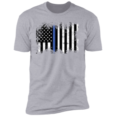 Premium Short Sleeve T-Shirt Thin Blue Line