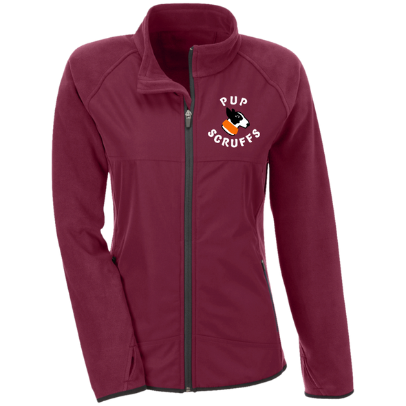 Ladies' Microfleece Pup Scruff Logo