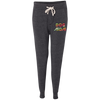 Ladies' Fleece Jogger Dog Mom Retro