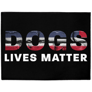 Dogs Lives Matter Dog Mat