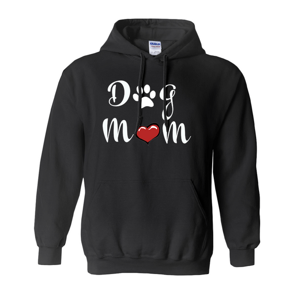 Ladies Hoodie Dog Mom