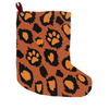 Leopawd Print Christmas Stocking