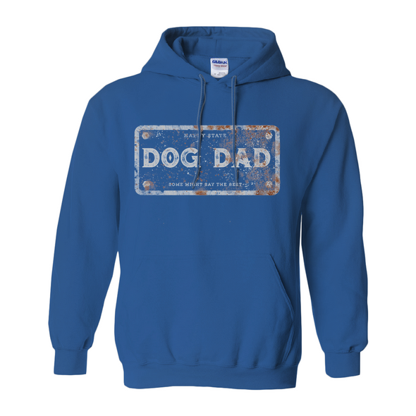 Men's Hoodie Dog Dad License