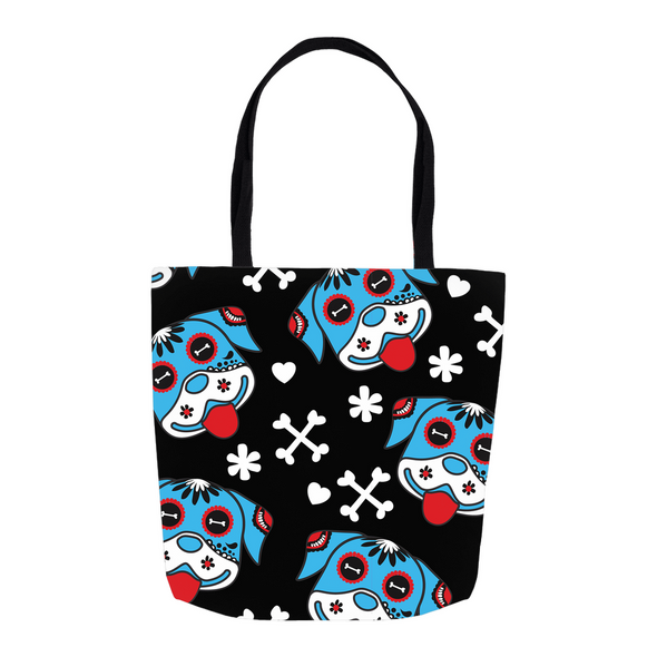 Day of the Dog Blue Tote