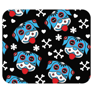 Day of the Dog Blue Mousepad