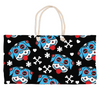 Day of the Dog Blue Weekender Tote