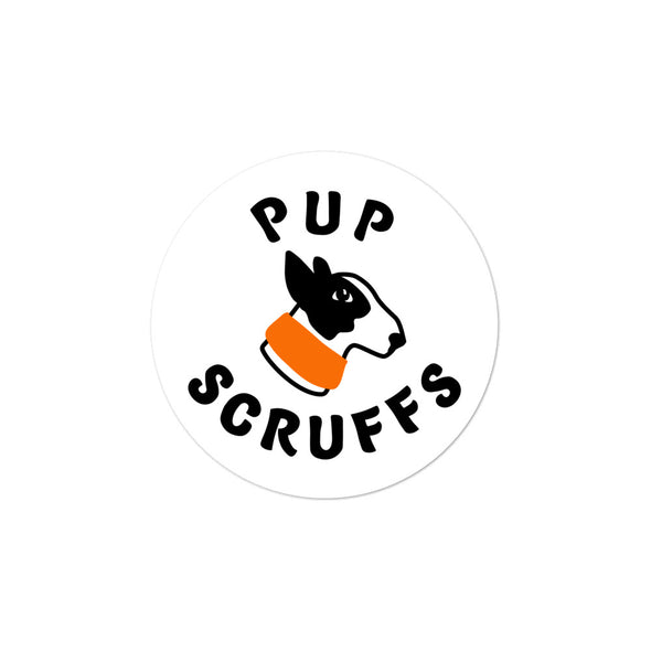 Pup Scruffs Sticker