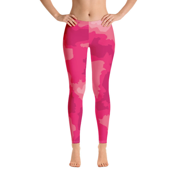 Crazy About Pink Leggings