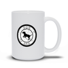 Dog Dad White Mug