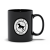 Dog Dad Black Mug