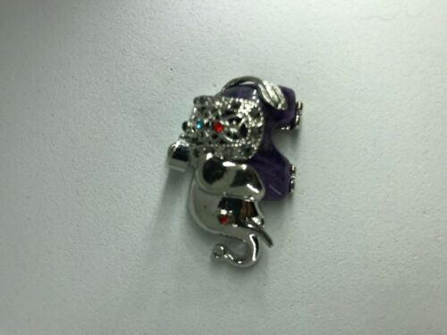 natural gemstone and silver elephant pendant