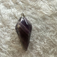 natural gemstone faceted drop pendants