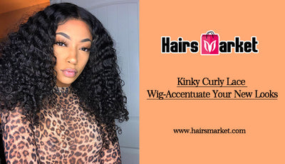 Kinky Curly Lace Wig-Accentuate Your New Looks