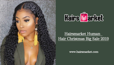 Hairsmarket Human  Hair Christmas Big Sale 2019
