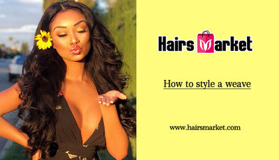 How to style a weave