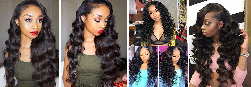 lace front wig real hair