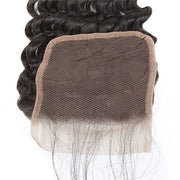 Ishow Deep Wave Human Hair 4x4 Swiss Lace Closure