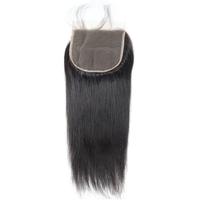 Straight Hair Lace Closure 6*6 Virgin Human Hair Lace Closure