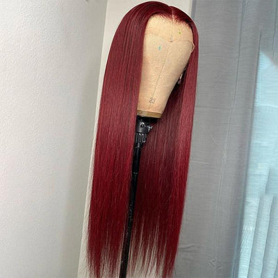 99J Lace Wigs Burgundy Lace Front Wig 13*4 Human Hair Wigs