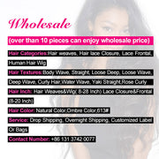 Wholesale Virgin Human Hair Bundles 10 Pieces Loose Deep Wave Hair